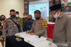Polda - Kanwil Kemenag Maluku kerja sama penyuluhan agama kamtibmas