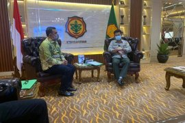 Temui Menteri Pertanian RI, ini yang disampaikan Bupati Aceh Jaya