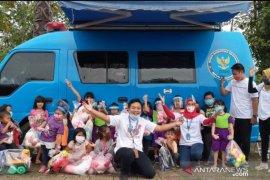 Cegah narkoba sejak dini, BNNK Samarinda bagikan mainan