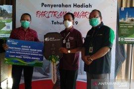 BPJAMSOSTEK Banuspa serahkan anugerah Paritrana Award ke BPD Bali