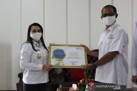 Kabupaten Landak raih penghargaan dari BPS terkait SP Daring 2020
