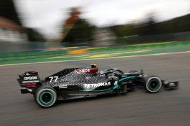 Formula 1: Bottas ungguli Hamilton di sesi latihan bebas GP Belgia