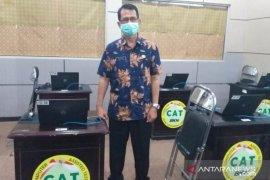 BKPSDM Belitung terapkan protokol kesehatan di pelaksanaan tes SKB CASN