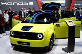 Honda e, kendaraan listrik bodi mungil