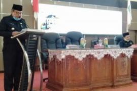 DPRD Balangan gelar sidang paripurna KUA dan PPAS 2021