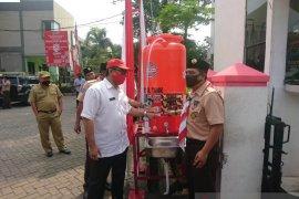 PMI Kota Tangerang salurkan wastafel portabel
