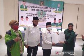 Surat dukungan PPP untuk pasangan Herman-Mulyana