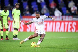 Liga Prancis: Trigol Memphis Depay bawa Lyon kalahkan Dijon
