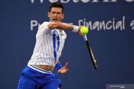 Djokovic sempat kesulitan  lalui laga perdana US Open