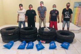 Polisi ciduk komplotan pembobol gudang PT Astra Agro Lestari I