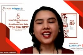 "Iprahumas luncurkan buku ""The Real GPR"" bertepatan HUT ke-5"