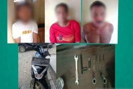 Kurang dari dua jam, tiga curanmor berhasil diringkus Polres Pandeglang