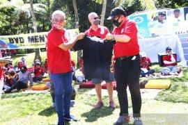 Wagub Bali ajak anggota Bali VW sosialisasikan penggunaan masker