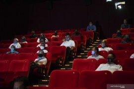 Kapasitas bioskop maksimal 25 persen apabila dibolehkan beroperasi selama PSBB
