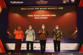 Buleleng sabet empat penghargaan 'TOP BUMD Award 2020'