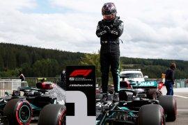 """Hamilton rebut """"pole position"""" GP Belgia, ungguli Bottas"""