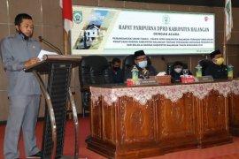 Enam fraksi DPRD sampaikan pandangan terhadap Raperda APBD TA 2020