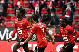 Liga Prancis: Diwarnai dua kartu merah, Rennes atasi Montpellier 2-1