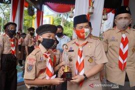 Ikuti HUT Pramuka Al Fatih boyong piala walikota
