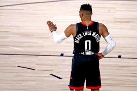 Houston Rockets mengungguli Thunder ditandai kembalinya Westbrook