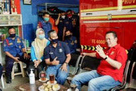 Bamsoet: Petugas pemadam kebakaran pahlawan masyarakat masa kini