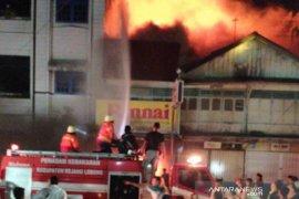 Polisi: Penyebab kebakaran ruko di Curup diduga akibat korsleting