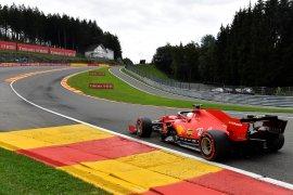 Formula 1: Ferrari mendapat hasil terburuk di Kualifikasi GP Belgia