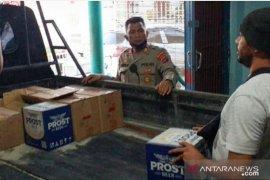 Polisi ungkap gudang miras di eks lokalisasi Pembatuan