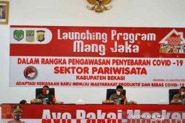 """Polrestro Bekasi luncurkan """"Mang Jaka""""  cegah COVID-19 di sektor pariwisata"""