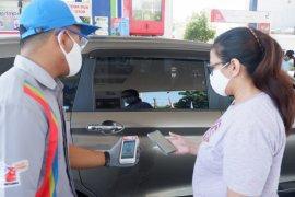 Transaksi nontunai SPBU di Surabaya capai 8.700 per hari