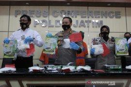 Polda Jatim amankan 6,5 kilogram sabu-sabu dari jaringan Malaysia