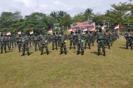 Batalyon 642/Kps siap amankan wilayah batas Indonesia - Malaysia di Kalbar