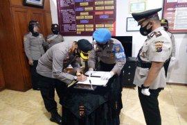 Kapolres Binjai pimpin sertijab tiga pejabat utama
