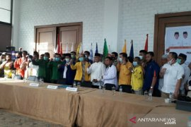 11 partai politik sepakat pasangkan Ibnu-Erfian untuk Pilkada Bangka Tengah