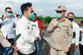 "Menteri Pertanian Syahrul Yasin Limpo kembali tinjau ""food estate"" di Kalteng"