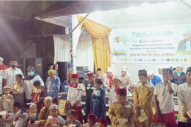 LAZISNU Kota Pontianak - MWCNU Pontianak Timur santuni 50 Anak Yatim