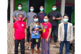 Baznas Sanggau gelar khitanan gratis di Desa Nanga Biang