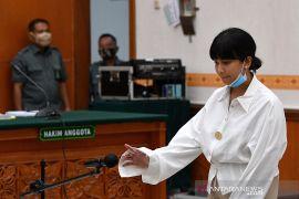 Artis Vanessa Angel mulai jalani hukuman di Rutan Pondok Bambu
