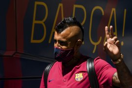 Vidal mengecam Barcelona di luar dan di dalam lapangan