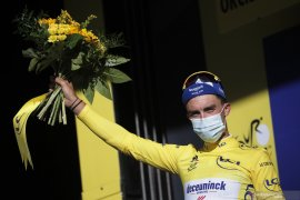 Klasemen sementara Tour de France setelah etape keempat