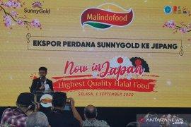 Mentan lepas ekspor perdana produk olahan peternakan PT Malindo ke Jepang (Video)