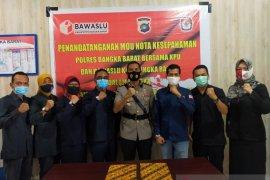 Polisi-KPU-Bawaslu Bangka Barat antisipasi potensi gangguan Pilkada