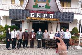 Dewan Pengawas Rekson Silaban ajak warga GKPA peserta BPJAMSOSTEK