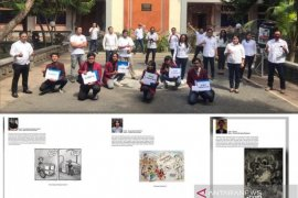 """ISI Denpasar buat  kartun """"Tumpah Rasa COVID-19"""" untuk tebarkan semangat"""