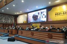 Rektor Unair kukuhkan 6.875 mahasiswa baru secara daring