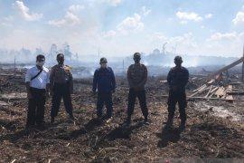 Polisi Bangka selidiki kebakaran lahan 1,5 hektar di Pagarawan