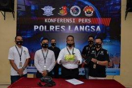 Bawa sabu karena butuh biaya kuliah, seorang mahasiswa asal Aceh Timur diringkus polisi