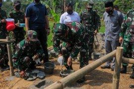 TNI AD bangun dua jembatan di Kabupaten Lebak
