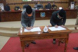 Kesepakatan KUPA-PPAS Perubahan APBD Kabupaten Tanjabbar diteken