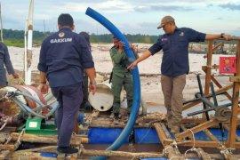 KLHK dan Tim Gabungan hentikan aktivitas tambang Ilegal di Mandor